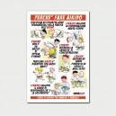 Cartoline promozionali Aikido - Fronte