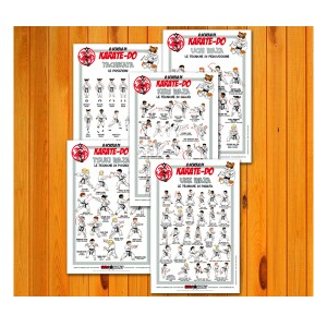 Poster set of  Karate 30x45