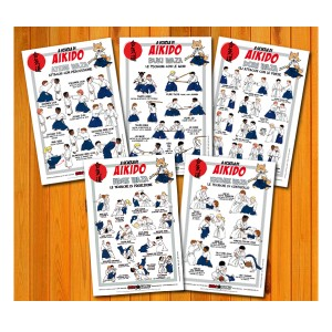 Poster set of Aikido 30x45
