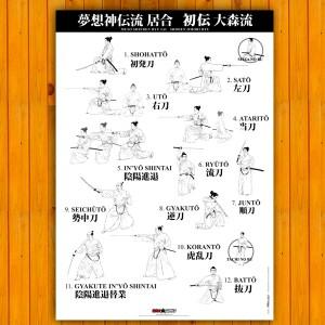 Poster Iaido Musoshinden Ryu