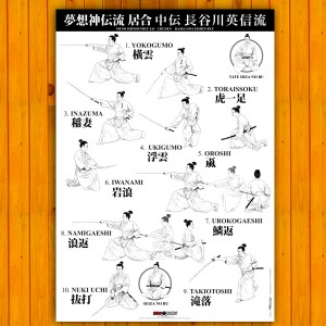Poster Iaido Musoshinden Ryu Chuden