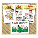 Set of postcards Judo - Overview