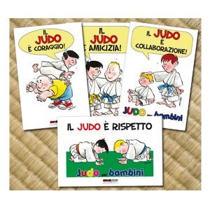 Cartoline promozionali Judo