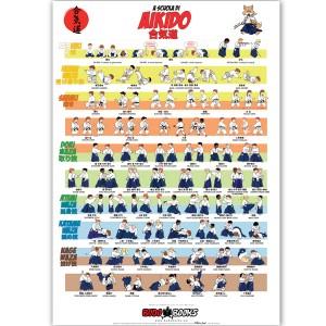 Poster 70x100 AIKIDO