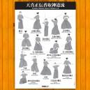 Poster kenjutsu Tenshi Shoden katori Shinto-ryu